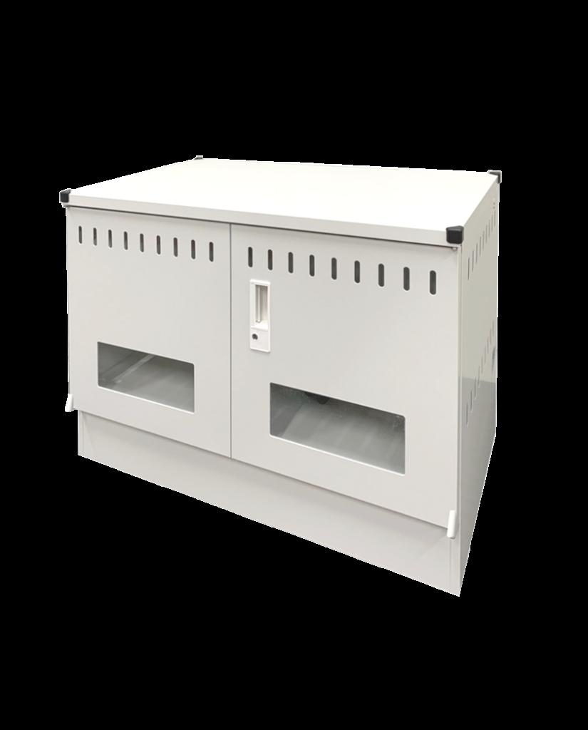 タブレットPC充電保管庫 22台収納 窓付き扉 | TPS-22W