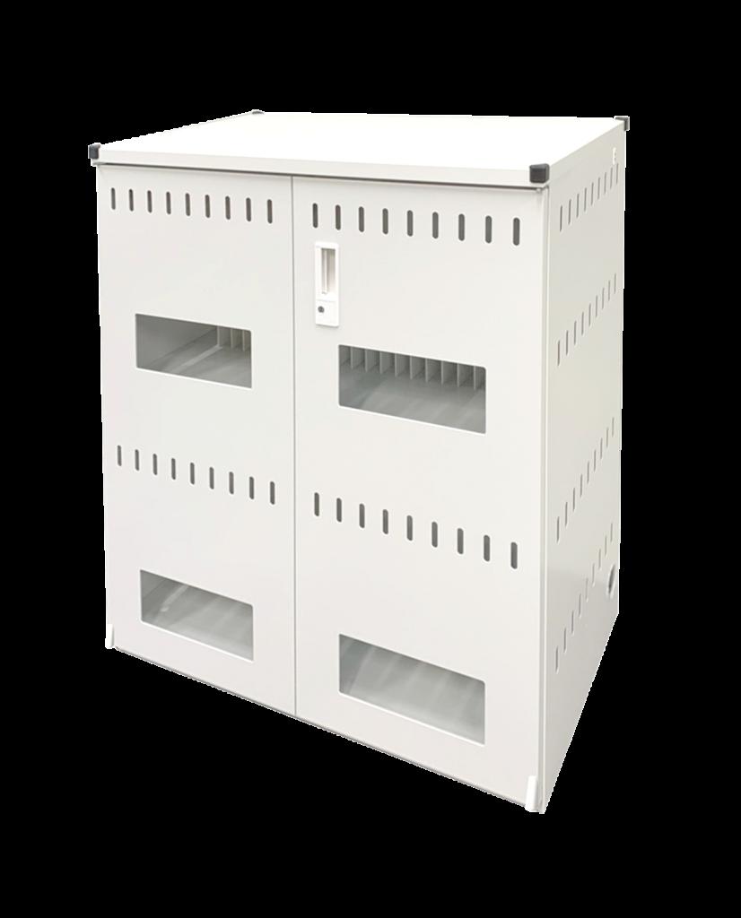 タブレットPC充電保管庫 44台収納 窓付き扉|TPS-44W